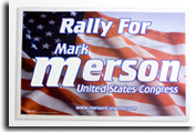 Campaign Rally Sign
