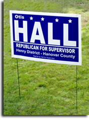 Sealed Political Signs