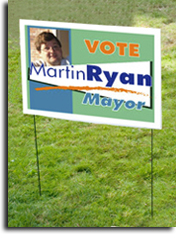 Full Color Political Sign