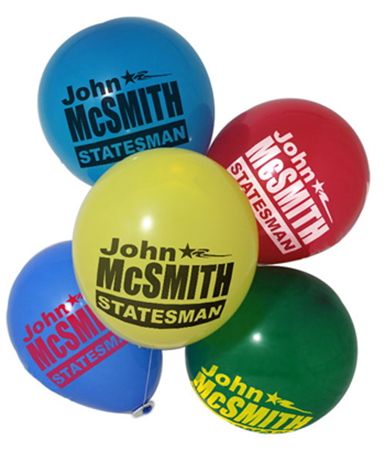 Campaign Balloons (9″)