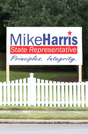 Campaign Billboard Signs (2′ x 2′)
