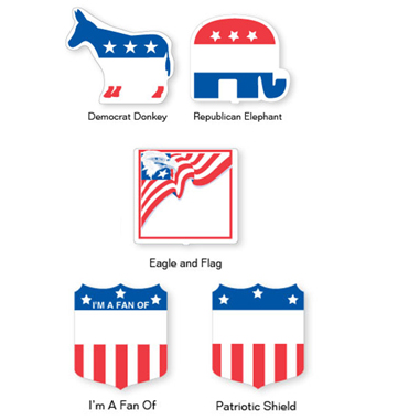 Campaign Fans (Stock Design)