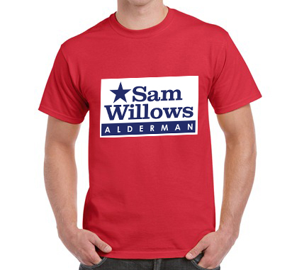 Campaign T-shirts – (Color T-shirt)