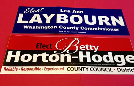 Economy Campaign Bumper Stickers (3.75″ x 11.5″)