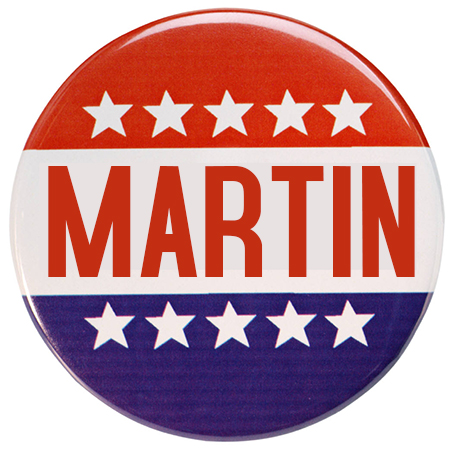 Campaign Buttons (3″ Circle)