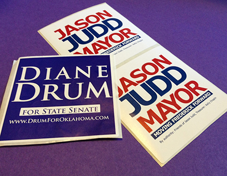 Campaign Lapel Stickers (3″ x 3″ Square)
