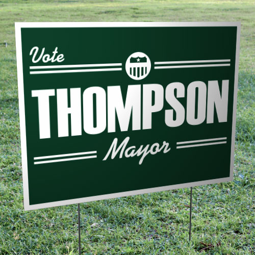 "18"" x 24"" Corrugated Plastic Yard Signs (Double-sided)"