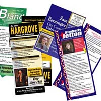 campaign palm cards