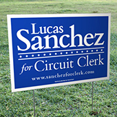 Corrugated Plastic Yard Signs
