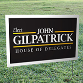 Sealed Yard Signs