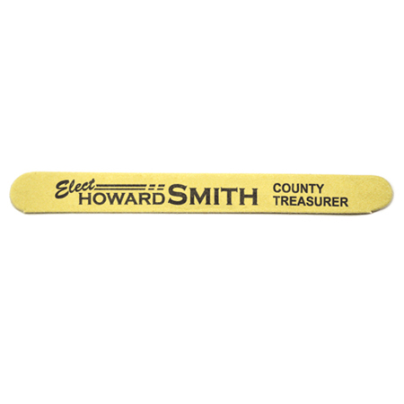 Campaign Emery Boards (Yellow)