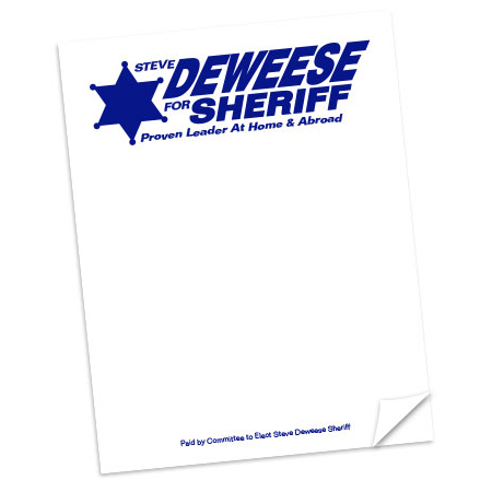 Campaign Note Pads