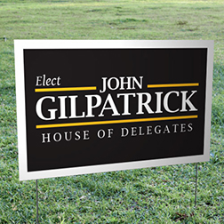 Campaign Yard Signs Runandwin