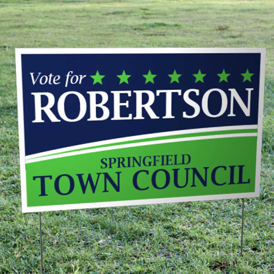 runandwin is different – your campaign yard signs will show that