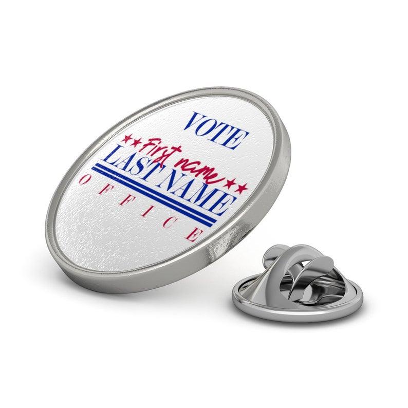 Campaign Lapel Pin 2