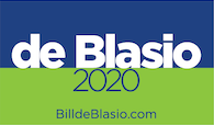 Campaign Yard Signs Presidential Edition – Mayor Bill de Blasio