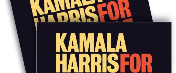 Campaign Yard Signs Presidential Edition – Senator Kamala Harris