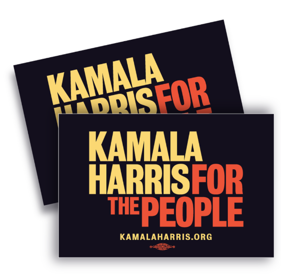 Kamala Harris campaign yard signs